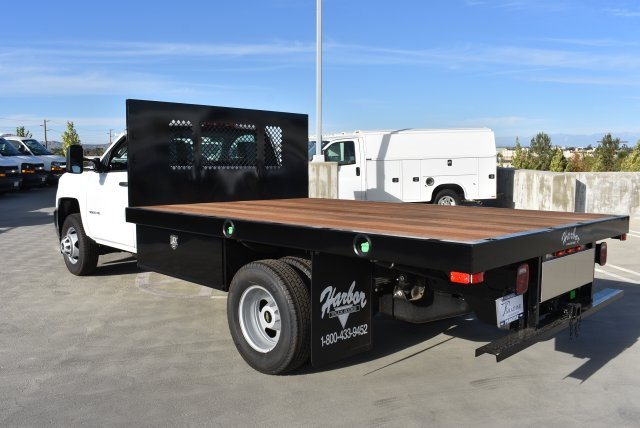 2017 Silverado 3500 Regular Cab DRW 4x2,  Harbor Platform Body #M171546 - photo 7