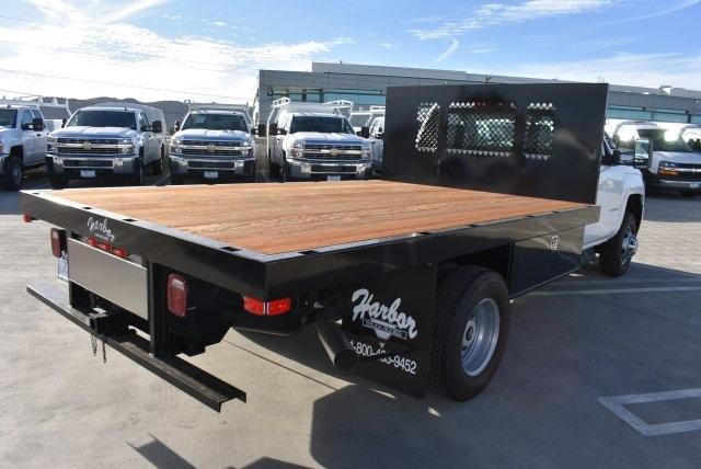 2017 Silverado 3500 Regular Cab DRW, Harbor Platform Body #M171546 - photo 2