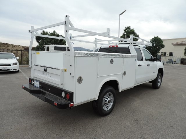 2017 Silverado 2500 Regular Cab, Royal Utility #M17267 - photo 2