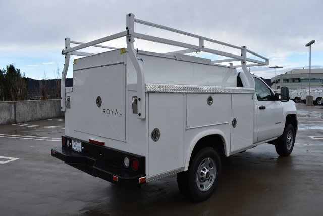 2017 Silverado 2500 Regular Cab, Royal Utility #M17289 - photo 2