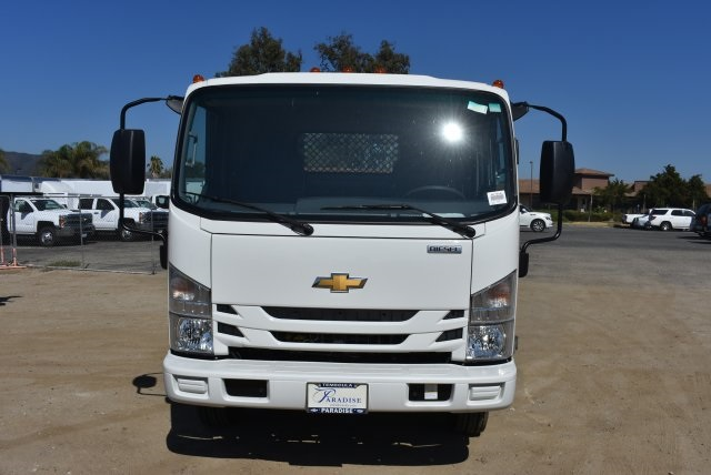 2017 Low Cab Forward Regular Cab, American Truck Bodies Flat/Stake Bed #M17315 - photo 3