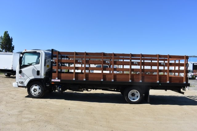 2017 Low Cab Forward Regular Cab, American Truck Bodies Flat/Stake Bed #M17315 - photo 5