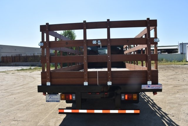 2017 Low Cab Forward Regular Cab, American Truck Bodies Flat/Stake Bed #M17315 - photo 7