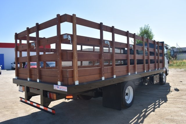 2017 Low Cab Forward Regular Cab, American Truck Bodies Flat/Stake Bed #M17315 - photo 2
