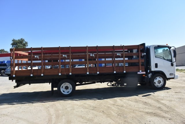 2017 Low Cab Forward Regular Cab, American Truck Bodies Flat/Stake Bed #M17315 - photo 8