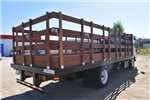 2017 Low Cab Forward Regular Cab, American Truck Bodies Flat/Stake Bed #M17315 - photo 1