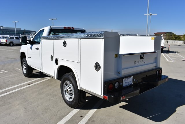 2017 Silverado 2500 Regular Cab, Royal Utility #M17325 - photo 7