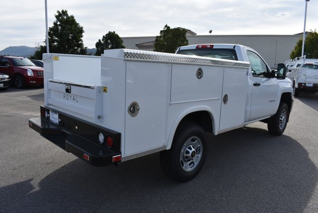 2017 Silverado 2500 Regular Cab, Royal Utility #M17332 - photo 2