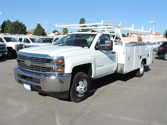 2017 Silverado 3500 Regular Cab, Harbor Utility #M17337 - photo 5