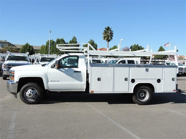 2017 Silverado 3500 Regular Cab, Harbor Utility #M17337 - photo 6