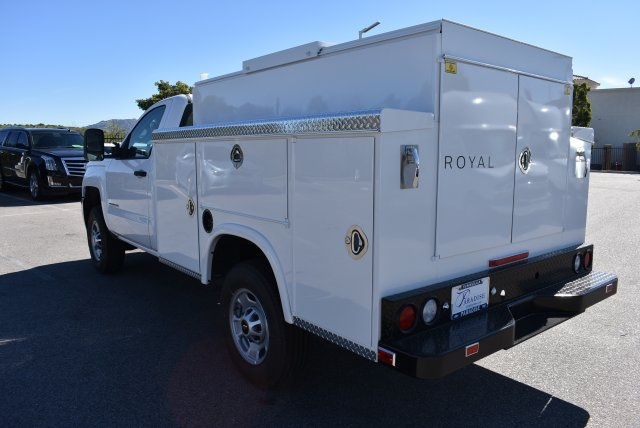 2017 Silverado 2500 Regular Cab, Royal Utility #M17339 - photo 7