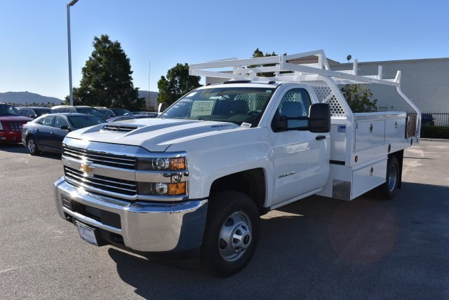 2017 Silverado 3500 Regular Cab, Royal Contractor Body #M17363 - photo 5
