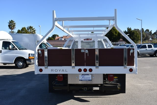 2017 Silverado 3500 Regular Cab, Royal Contractor Body #M17363 - photo 8