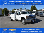 2017 Silverado 3500 Regular Cab, Royal Contractor Body #M17363 - photo 1