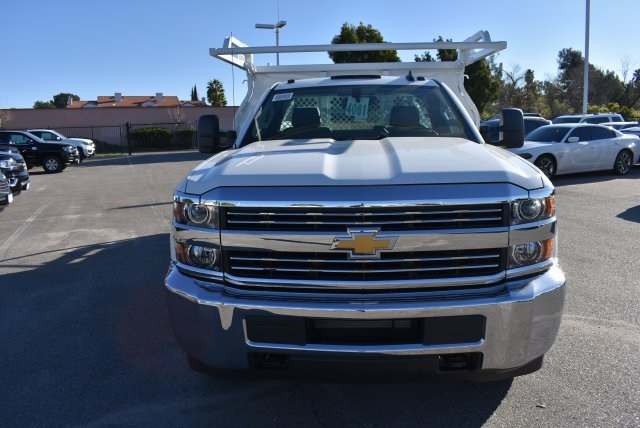 2017 Silverado 3500 Regular Cab, Knapheide Contractor Body #M17366 - photo 4