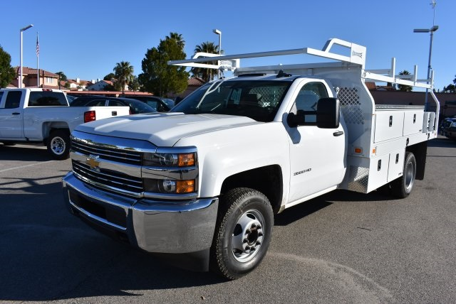 2017 Silverado 3500 Regular Cab, Knapheide Contractor Body #M17366 - photo 5