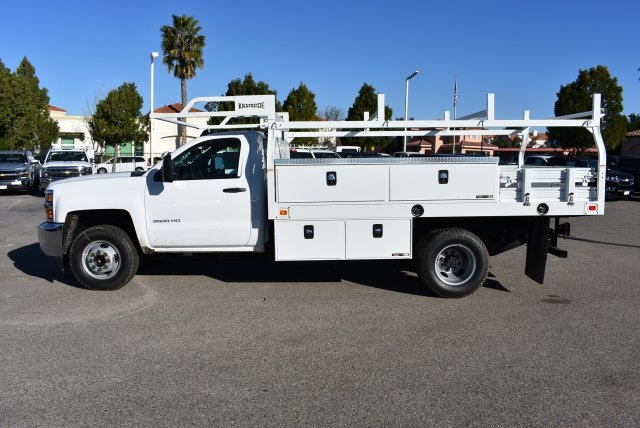 2017 Silverado 3500 Regular Cab, Knapheide Contractor Body #M17366 - photo 6