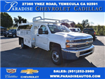 2017 Silverado 3500 Regular Cab, Knapheide Contractor Body #M17366 - photo 1