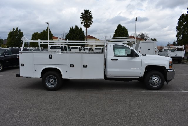 2017 Silverado 3500 Regular Cab, Utility #M17402 - photo 9