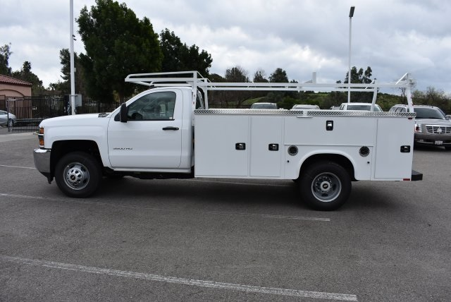 2017 Silverado 3500 Regular Cab, Utility #M17402 - photo 6