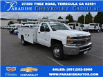 2017 Silverado 3500 Regular Cab, Utility #M17402 - photo 1