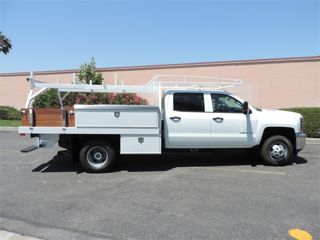 2017 Silverado 3500 Crew Cab, Contractor Body #M17410 - photo 9