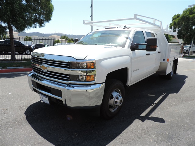 2017 Silverado 3500 Crew Cab, Contractor Body #M17410 - photo 5