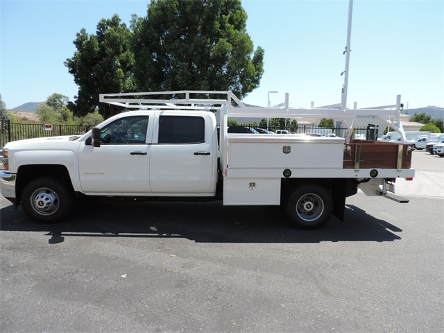 2017 Silverado 3500 Crew Cab, Contractor Body #M17410 - photo 6