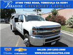 2017 Silverado 3500 Crew Cab, Contractor Body #M17410 - photo 1