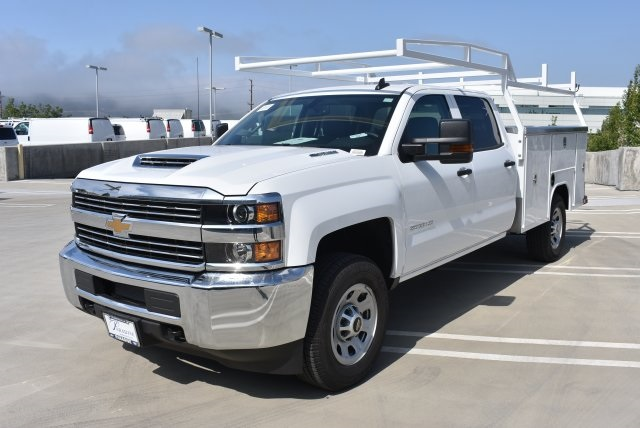 2017 Silverado 3500 Crew Cab, Harbor Utility #M17416 - photo 5