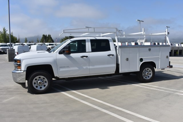 2017 Silverado 3500 Crew Cab, Harbor Utility #M17416 - photo 6