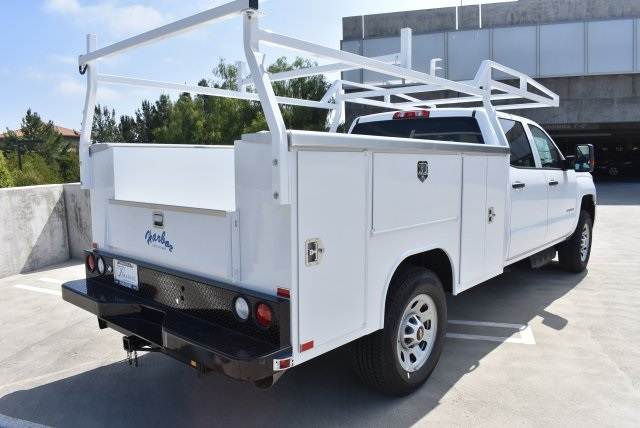 2017 Silverado 3500 Crew Cab, Harbor Utility #M17416 - photo 2