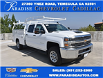 2017 Silverado 3500 Crew Cab, Harbor Utility #M17416 - photo 1