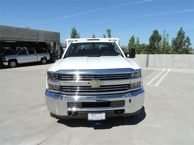 2017 Silverado 3500 Crew Cab, Royal Flat/Stake Bed #M17436 - photo 4