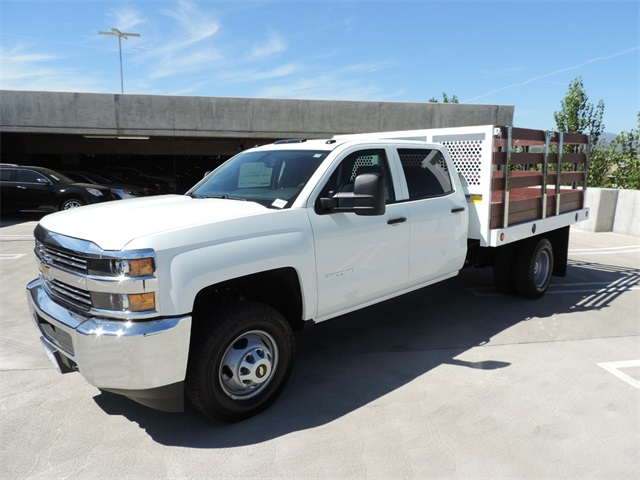 2017 Silverado 3500 Crew Cab, Royal Flat/Stake Bed #M17436 - photo 5