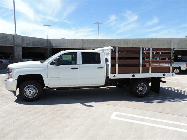 2017 Silverado 3500 Crew Cab, Royal Flat/Stake Bed #M17436 - photo 6