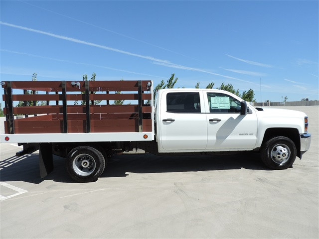 2017 Silverado 3500 Crew Cab, Royal Flat/Stake Bed #M17436 - photo 9
