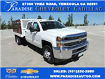 2017 Silverado 3500 Crew Cab, Royal Flat/Stake Bed #M17436 - photo 1