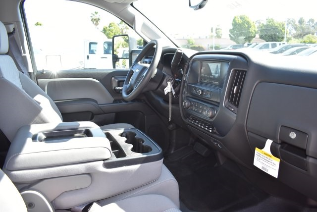 2017 Silverado 3500 Crew Cab, Royal Flat/Stake Bed #M17453 - photo 8
