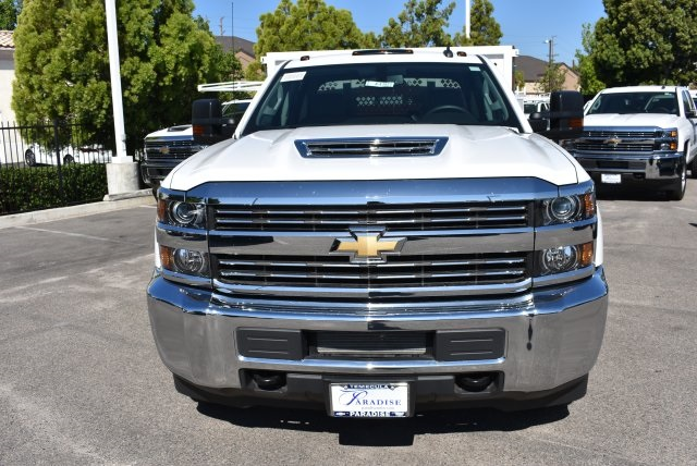 2017 Silverado 3500 Crew Cab, Royal Flat/Stake Bed #M17453 - photo 3
