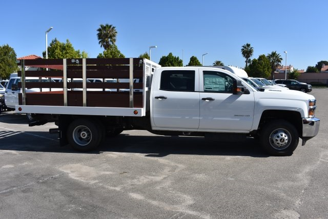 2017 Silverado 3500 Crew Cab, Royal Flat/Stake Bed #M17453 - photo 7