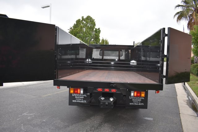 2017 LCF 4500 Crew Cab, Universal Truck Body, Inc. Landscape Dump #M17465 - photo 10