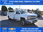 2017 Silverado 3500 Regular Cab, Knapheide Utility #M17470 - photo 1