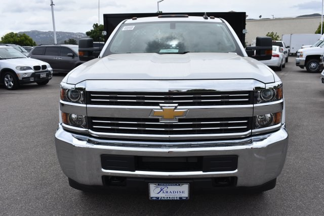 2017 Silverado 3500 Regular Cab, Harbor Flat/Stake Bed #M17474 - photo 4