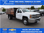 2017 Silverado 3500 Regular Cab, Harbor Flat/Stake Bed #M17474 - photo 1