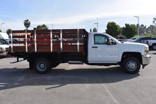 2017 Silverado 3500 Regular Cab, Harbor Flat/Stake Bed #M17476 - photo 14