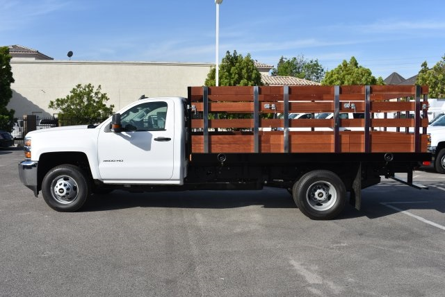 2017 Silverado 3500 Regular Cab, Harbor Flat/Stake Bed #M17476 - photo 8