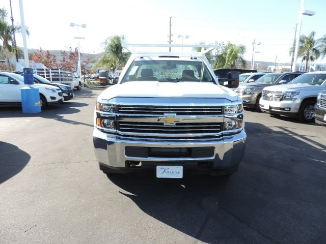 2017 Silverado 3500 Regular Cab DRW, Harbor Contractor Body #M17476 - photo 3