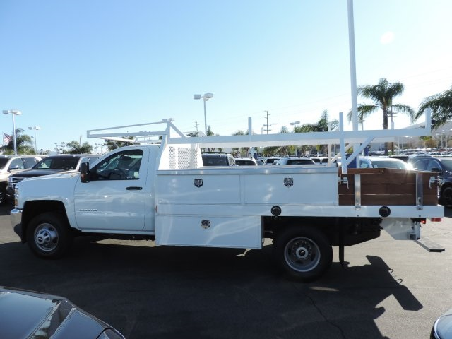 2017 Silverado 3500 Regular Cab DRW, Harbor Contractor Body #M17476 - photo 5