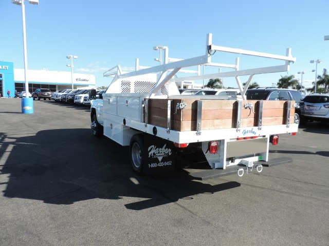 2017 Silverado 3500 Regular Cab DRW, Harbor Contractor Body #M17476 - photo 6